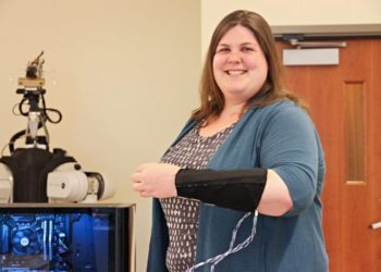 This Haptic Armband Can Mimic the Sensation of a Human Touch