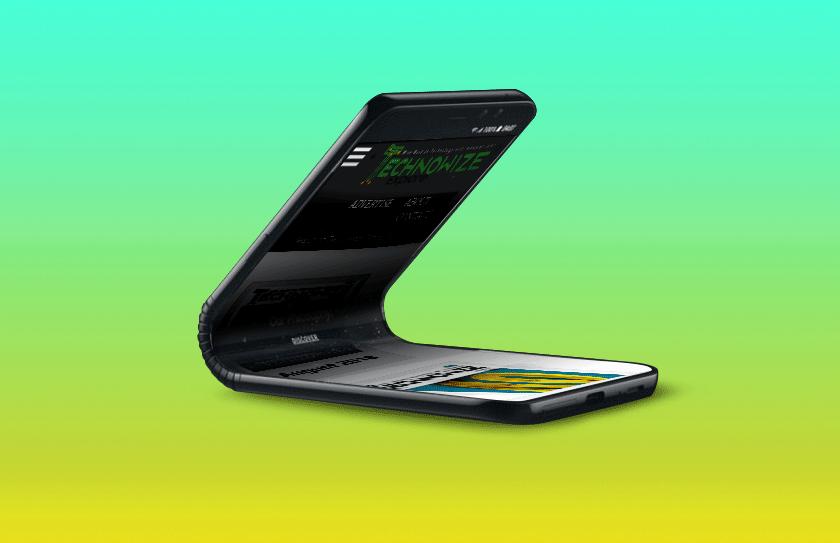 Foldable phone Galaxy F