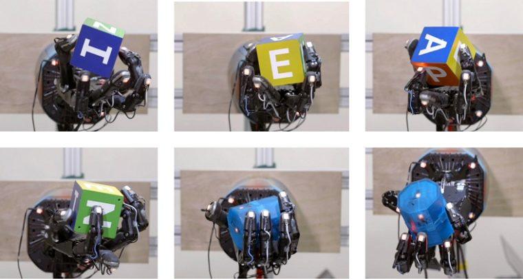 OpenAI Robot Hand Learns Dexterity in Handling Objects
