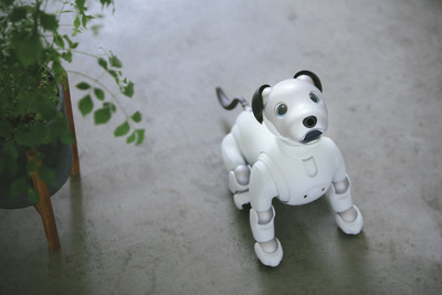 aibo robotic dog AI