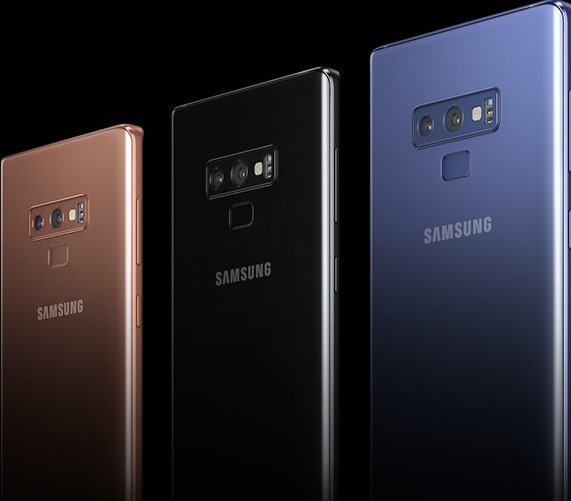 Samsung Galaxy Note 9 Hue