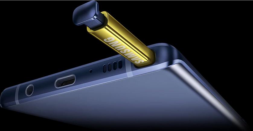 Samsung S pen Galaxy Note 9 Hue