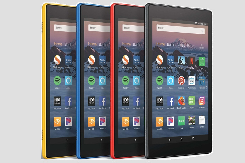 Amazon 2018 Fire HD tablet
