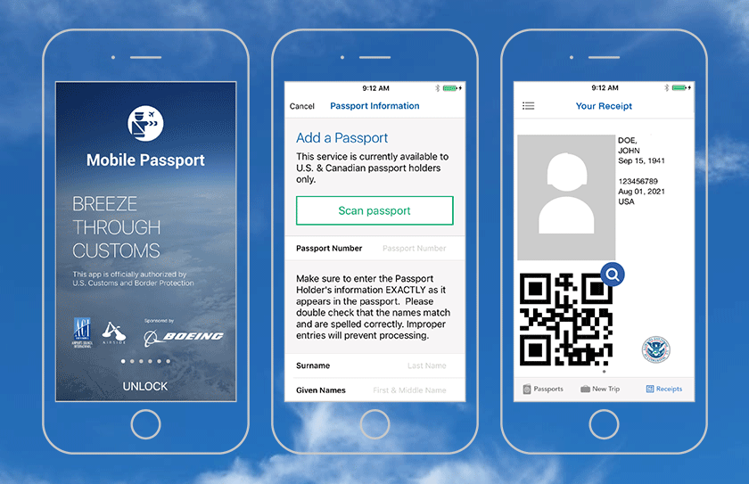 Best travel app Mobile-Passport