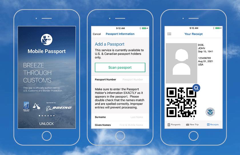 Best travel app Mobile-Passport