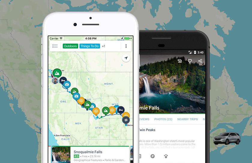 Best travel apps RoadTrippers