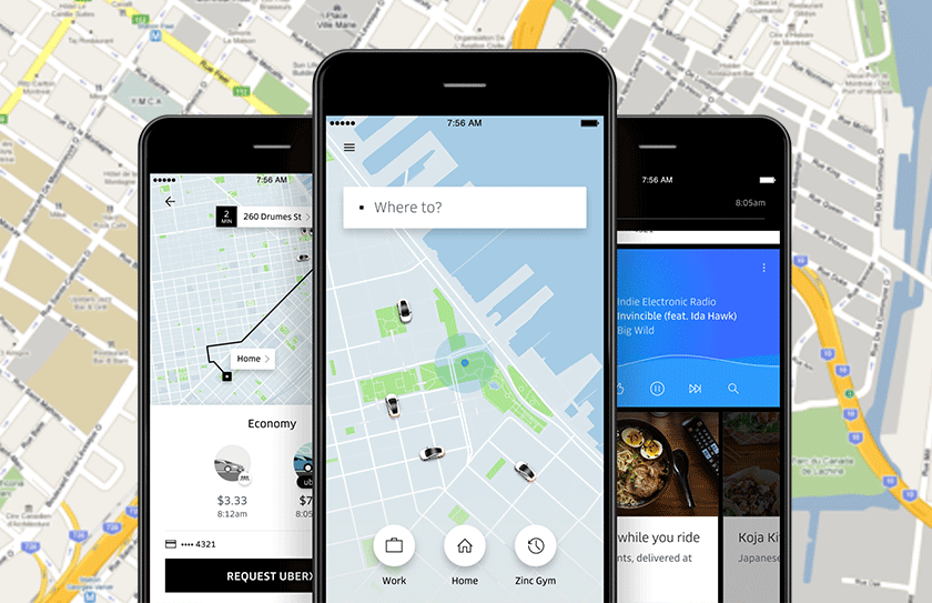 Best travel apps Uber