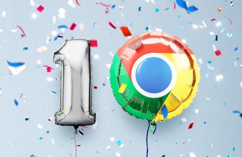 New Google Chrome