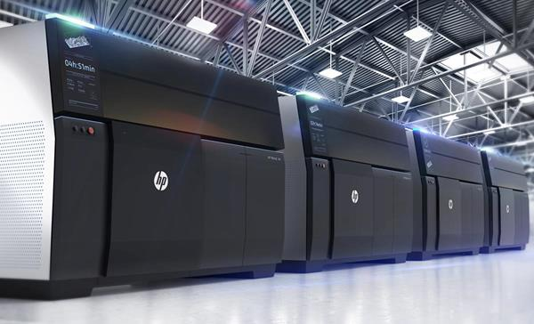 HP Metal Jet 3D metal printing