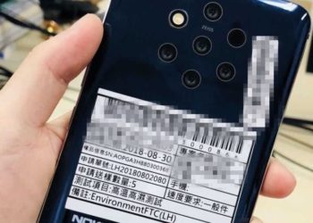 Leaked images show we're getting a Nokia phone with 5 cameras