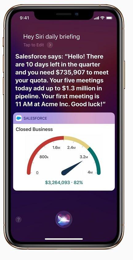 iOS apps Salesforce