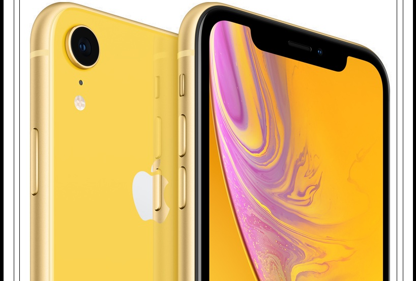 iPhone XR Review yellow