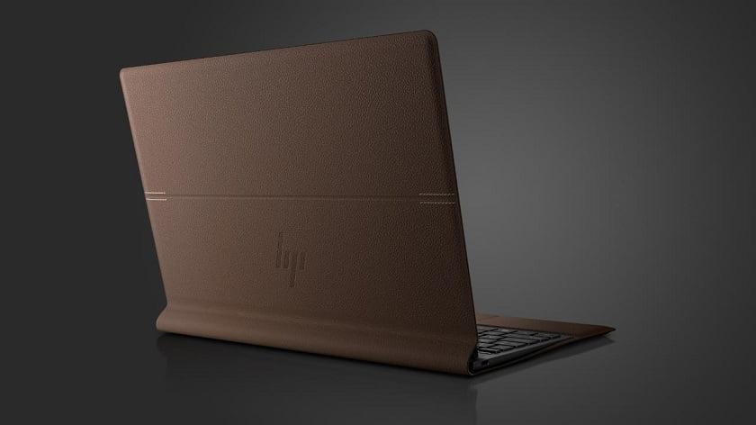 HP Spectre Folio leather laptop