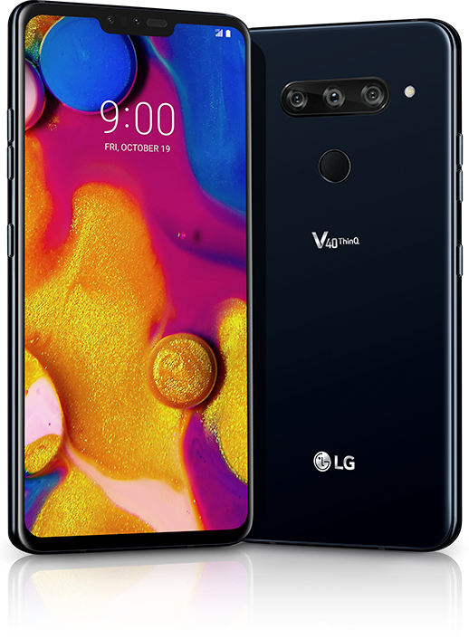 LG V40 ThinQ 5 camera phone