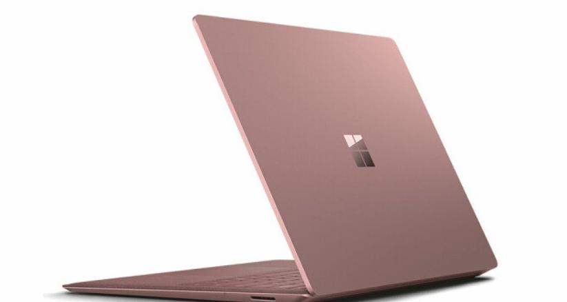 Microsoft Surface Laptop Pink