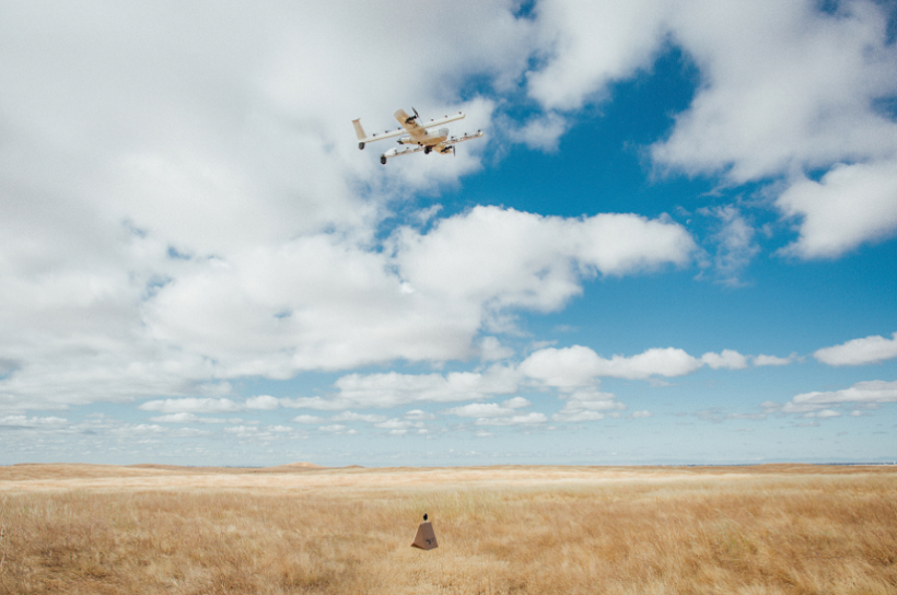 Alphabet Drone Delivery Project