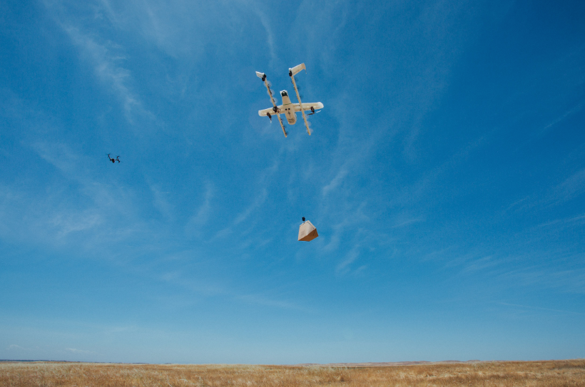 Alphabet Wing Delivery Drone Business