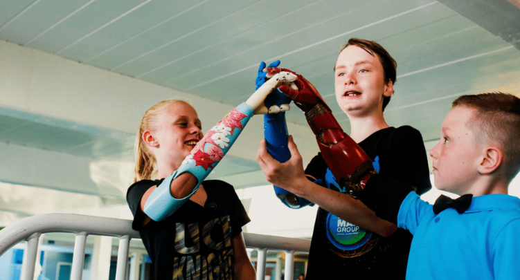 Microsoft's free halo-themed prosthetic arm will empower kids to feel like Master Chief