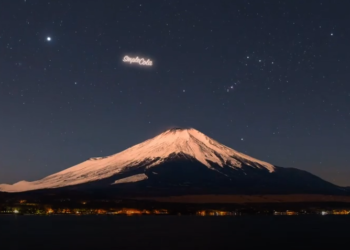 Space Billboards Turn Night Sky into a Canvas for Ads