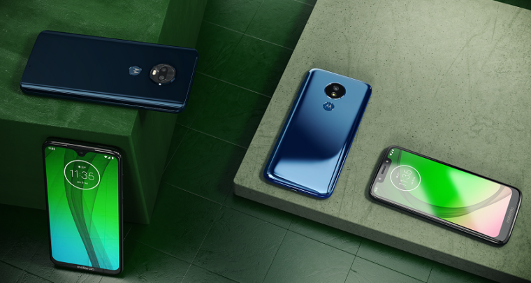 The Moto G7 Lineup: The G7, Power and Play Are All Budget-Friendly Smartphones