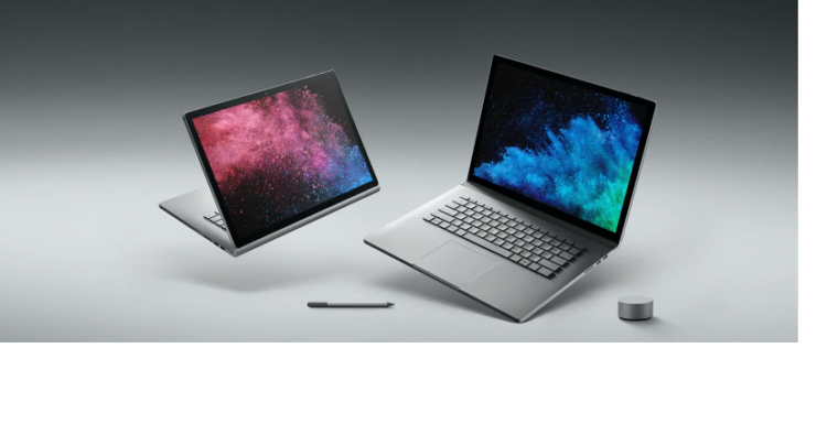 Microsoft upgrades the 13.5 inch new Surface Book 2 with Intel's latest Quad-core processor