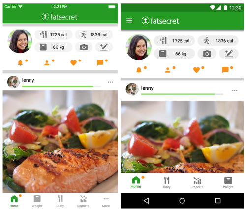 FatSecret Best Calorie Counter Apps
