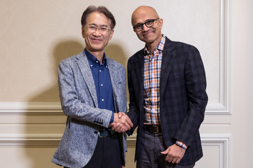 Sony and Microsoft cloud-based games