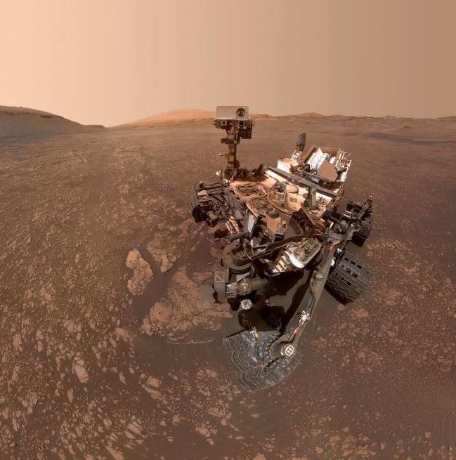 NASA Rover Clouds