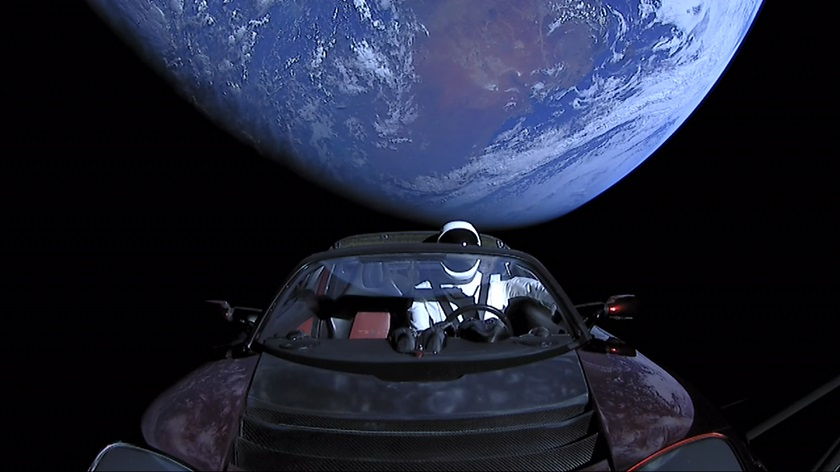 SpaceX Roadster
