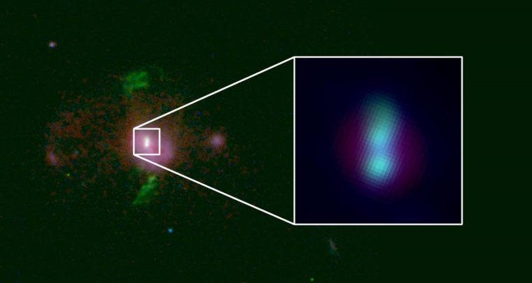 Astronomers discover two supermassive Black Holes are on a collision course