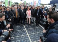 Torrential Rains and Thunderstorms Deteriorated World's First Solar Road