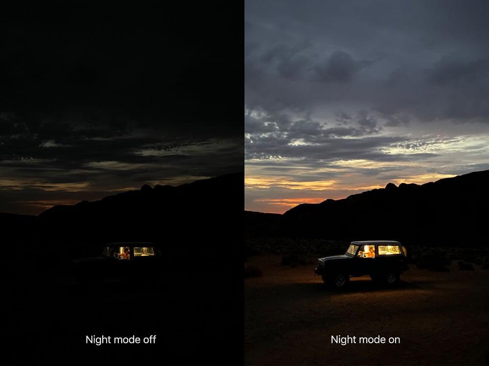 Apple iPhone 11 Pro Night Mode