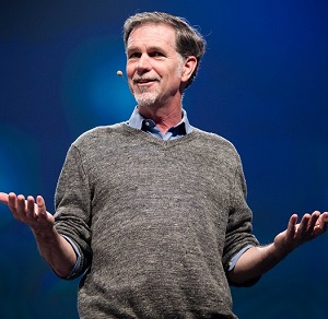 reed hastings most nfluential people in tech