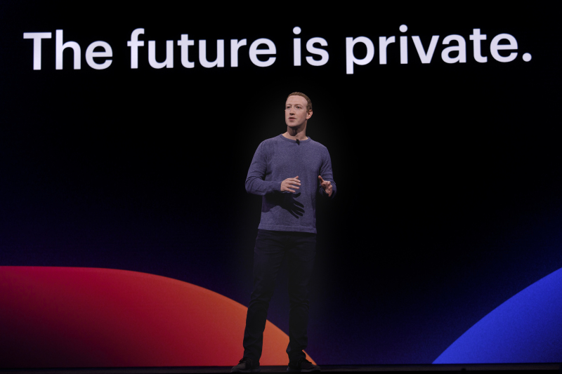 CEO Mark Zuckerberg at F8