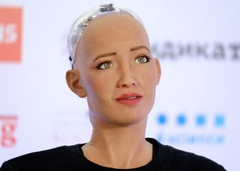 This sex robot can breathe using her 'AI chest cavity'