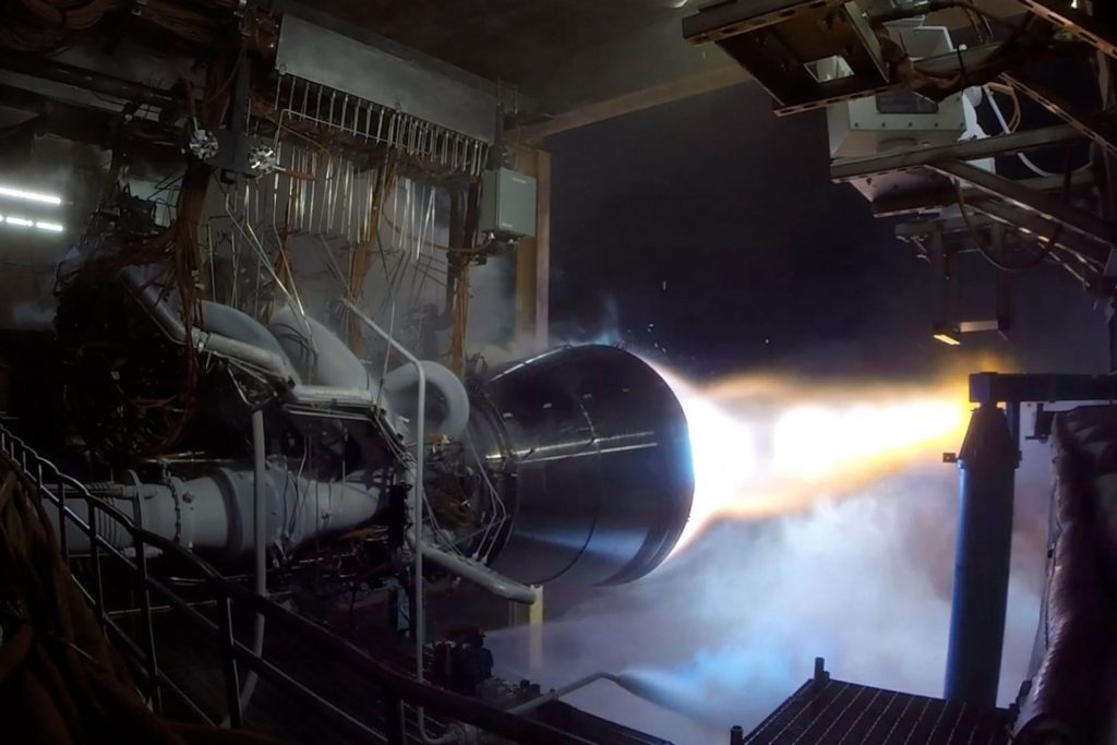 Blue Origin BE-4 Engine most powerful rocket