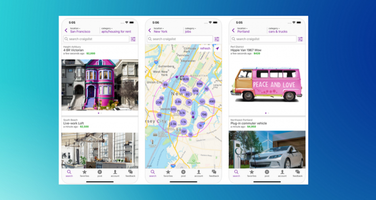 Official Craigslist iOS App is here at last!
