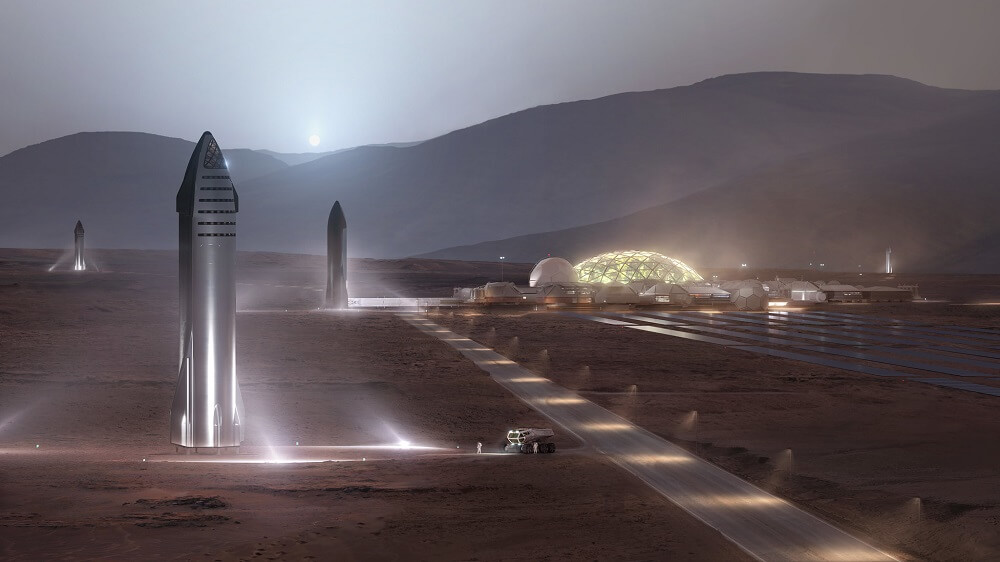 SpaceX Has Ambitions To Carry A Million People To Mars by 2050, Tweets Musk