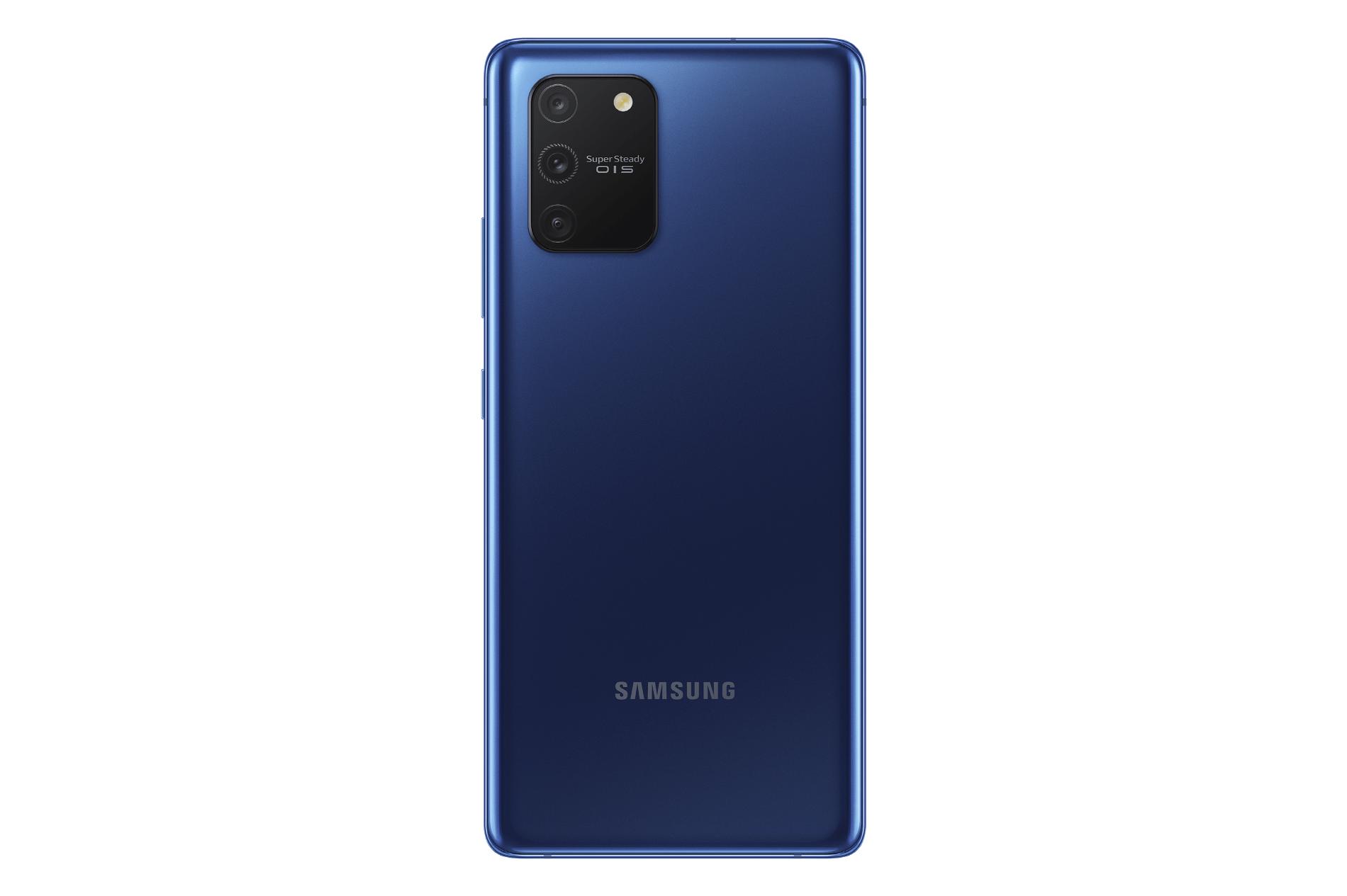 SM G770 Galaxy S10 Lite Back Prism Blue