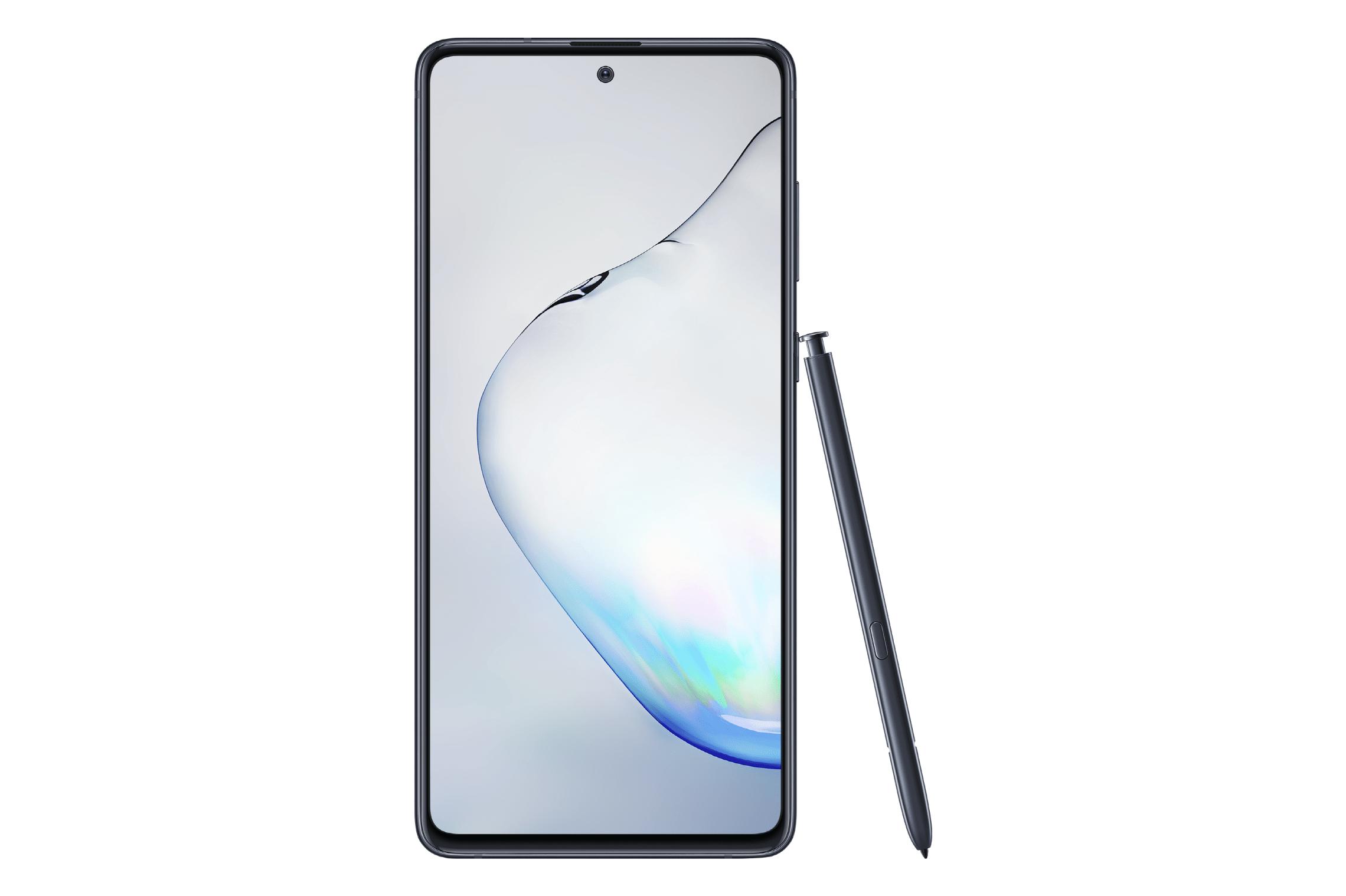 SM_N770 Galaxy Note 10Lite Front Pen Aura Black