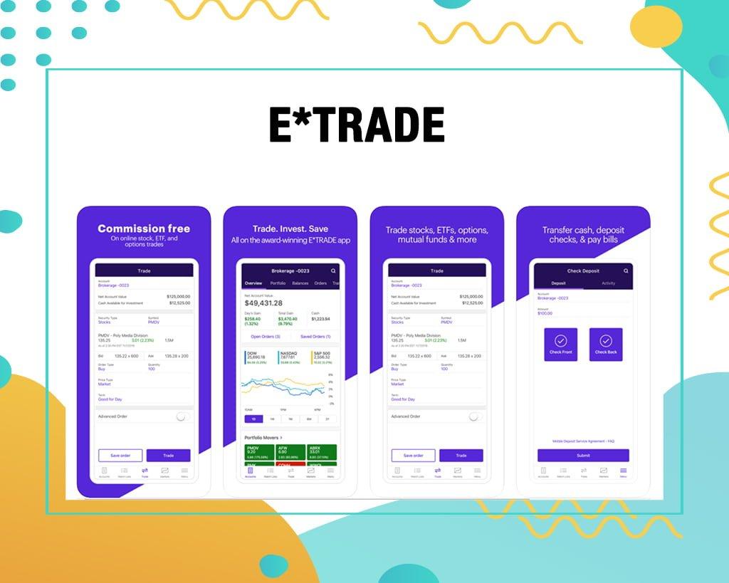 ETRADE Stock Trading App