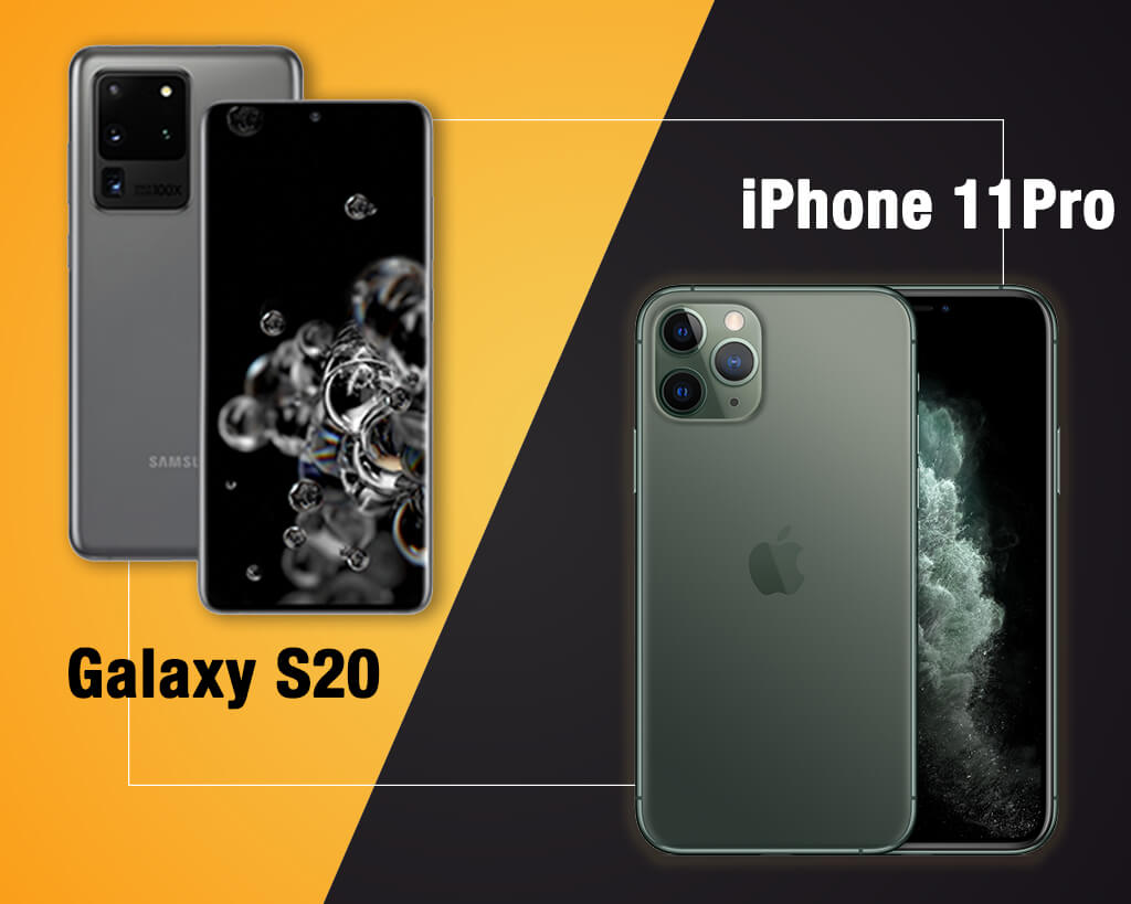 Galaxy S20 vs iPhone 11: Comparison between the Giants!