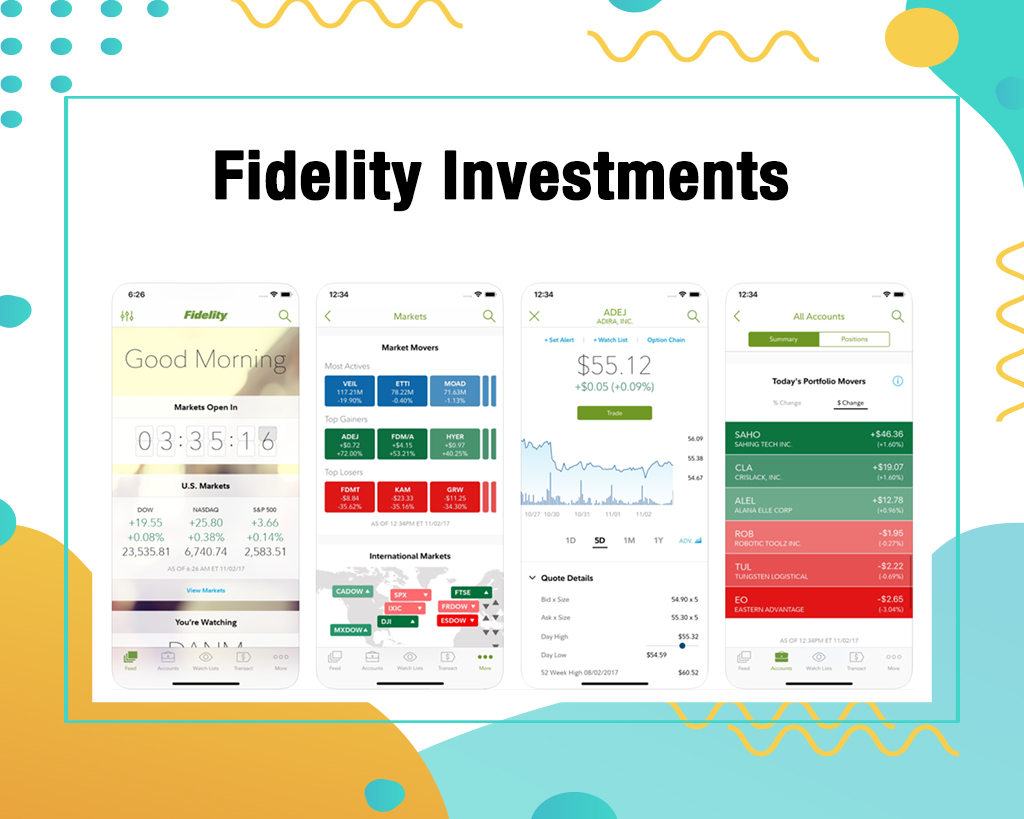 Fidelity Investments Stock Trading App