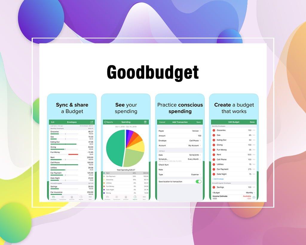 Goodbudget free budget app