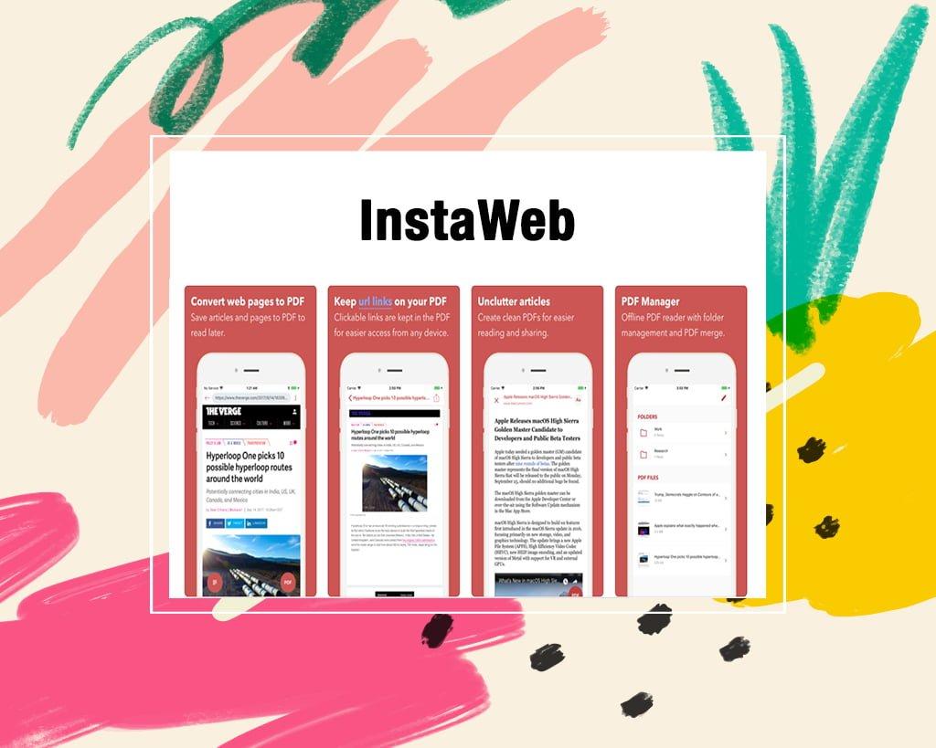 InstaWeb Best Read It Later Apps