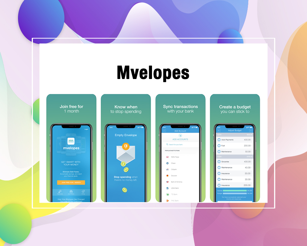 Mvelopes popular budgeting apps