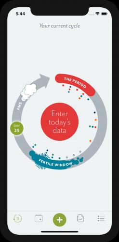 Clue Period Tracker App