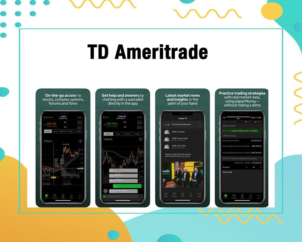 TD Ameritrade Stock Trading App