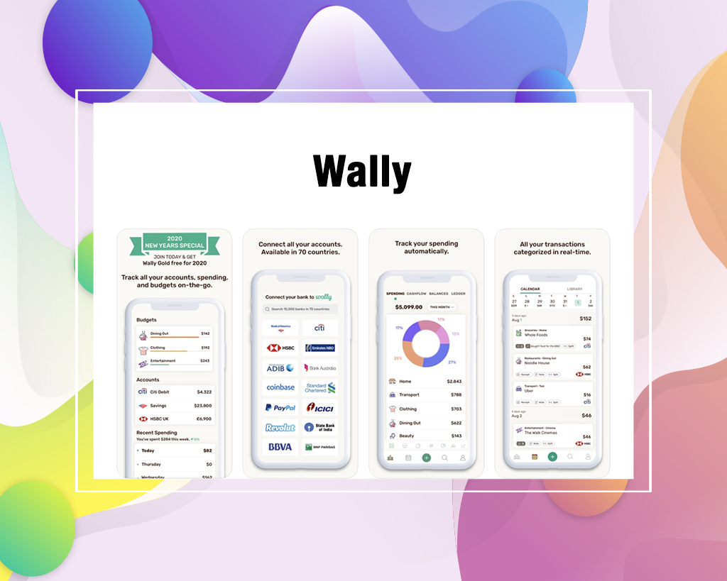 Wally Monthly Budgeting Apps