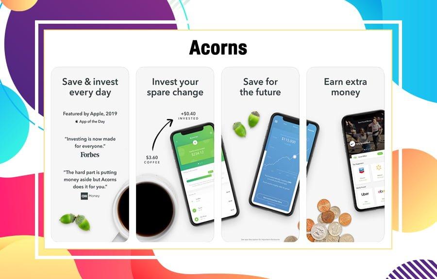 Acorns best investment apps
